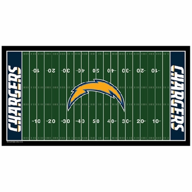 San Diego Chargers Runner Mat