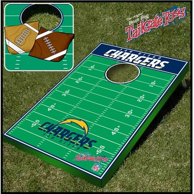 San Diego Chargers Tailgate Toss Cornhole Beanbag Game
