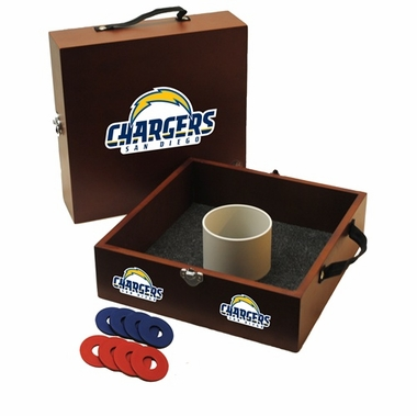 San Diego Chargers Washer Toss Game
