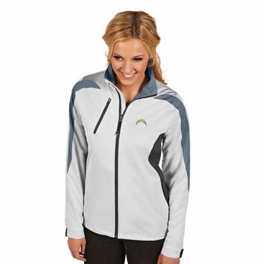 San Diego Chargers Womens Discover Jacket (Color: White)