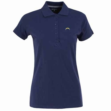 San Diego Chargers Womens Spark Polo (Color: Navy)