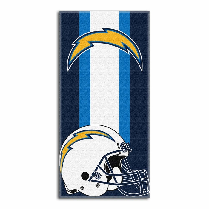San Diego Chargers Zone Read Beach Towel