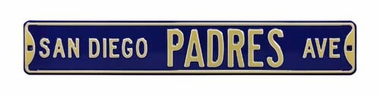 San Diego Padres Ave Street Sign