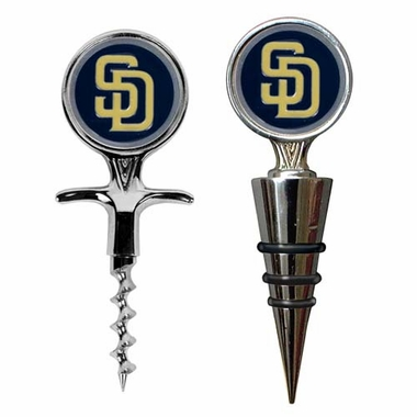 San Diego Padres Corkscrew and Stopper Gift Set