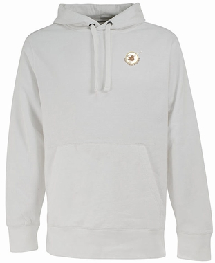 San Diego Padres Mens Signature Hooded Sweatshirt (Cooperstown) (Color: White)