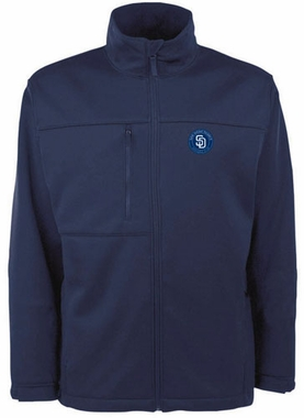 San Diego Padres Mens Traverse Jacket (Color: Navy)