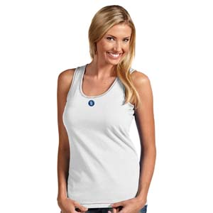 San Diego Padres Womens Sport Tank Top (Color: White) - X-Large