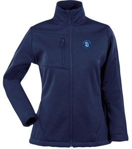 San Diego Padres Womens Traverse Jacket (Color: Navy) - Small