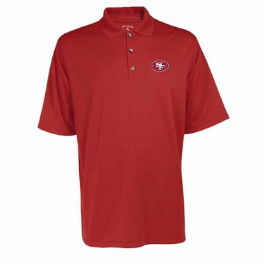 San Francisco 49ers Mens Exceed Polo (Color: Red)