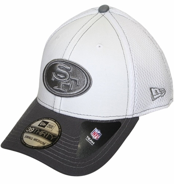 San Francisco 49ers New Era 39THIRTY Blitz Neo Fitted Hat - Gray
