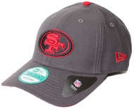 San Francisco 49ers New Era 9Forty The League Graph Pop Adjustable Hat 2b9711a06