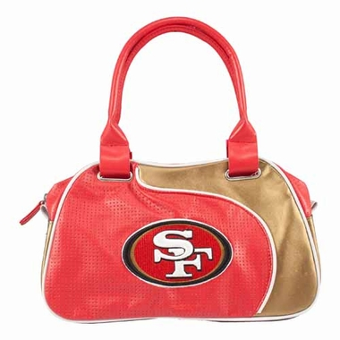 San Francisco 49ers Perf-ect Bowler Purse