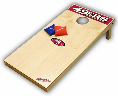 San Francisco 49ers Regulation Size (XL) Tailgate Toss Beanbag Game