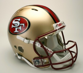 San Francisco 49ers 1996-2008 Throwback Revolution Pro Line Helmet