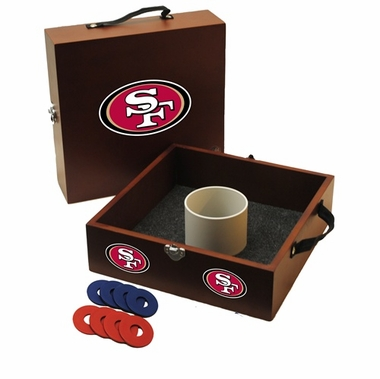 San Francisco 49ers Washer Toss Game