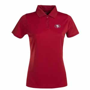 San Francisco 49ers Womens Exceed Polo (Color: Red) - Medium