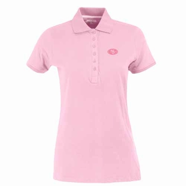 San Francisco 49ers Womens Spark Polo (Color: Pink)