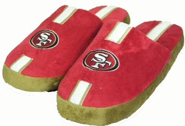 San Francisco 49ers YOUTH Team Stripe Slide Slippers