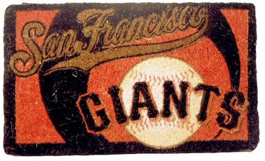 San Francisco Giants 18x30 Bleached Welcome Mat