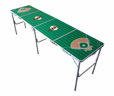 San Francisco Giants 2x8 Tailgate Table