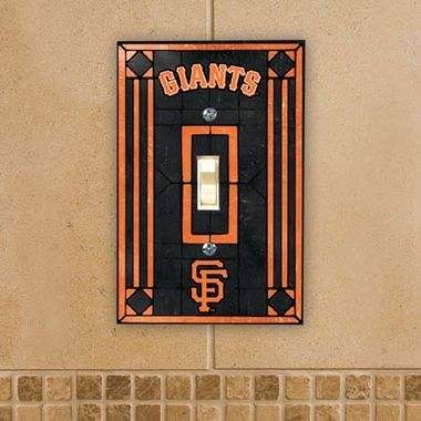 San Francisco Giants Art Glass Lightswitch Cover