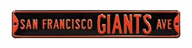 San Francisco Giants Ave Street Sign