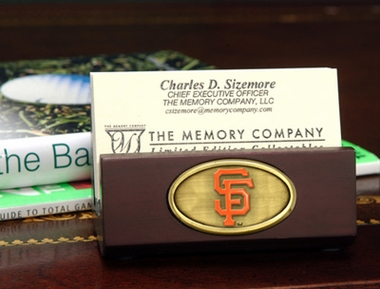 San Francisco Giants Business Card Holder