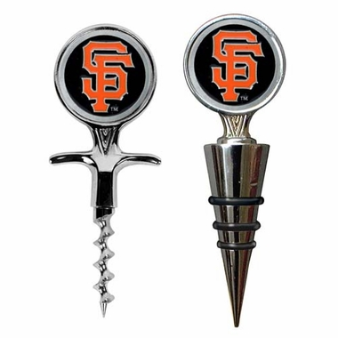 San Francisco Giants Corkscrew and Stopper Gift Set