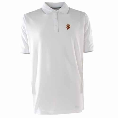 San Francisco Giants Mens Elite Polo Shirt (Color: White)
