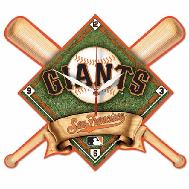 San Francisco Giants High Definition Wall Clock