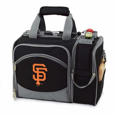 San Francisco Giants Malibu Picnic Cooler (Black)