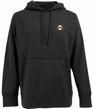 San Francisco Giants Mens Signature Hooded Sweatshirt (Color: Black)