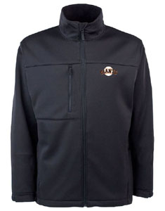 San Francisco Giants Mens Traverse Jacket (Color: Black) - Large