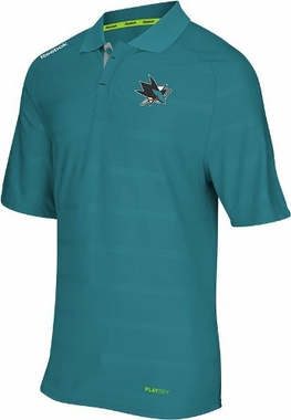 San Jose Sharks 2012 Team Performance Polo Shirt