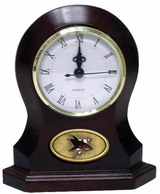 San Jose Sharks Desk Clock