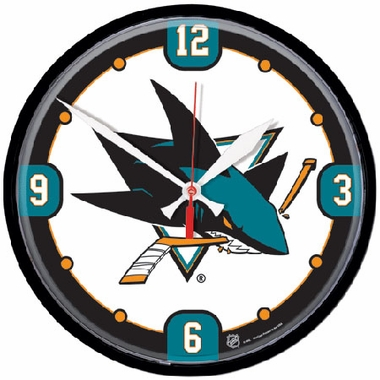 San Jose Sharks Wall Clock