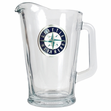 Seattle Mariners 60 oz Glass Pitcher
