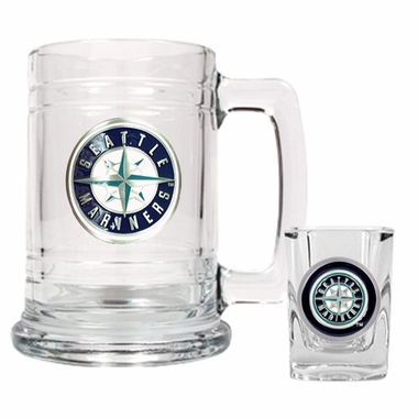 Seattle Mariners Boilermaker Set