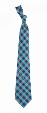 Seattle Mariners Check Poly Necktie
