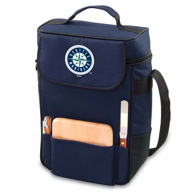 Seattle Mariners Duet Compact Picnic Tote (Navy)