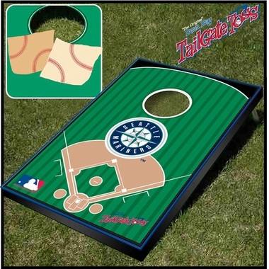 Seattle Mariners Tailgate Toss Cornhole Beanbag Game