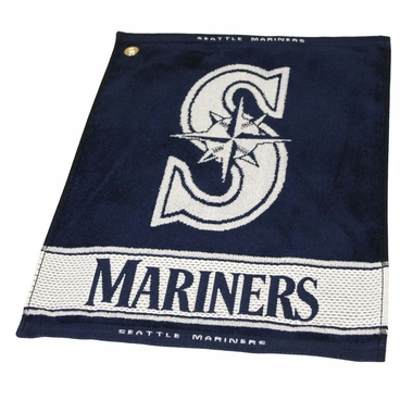 Seattle Mariners Woven Golf Towel
