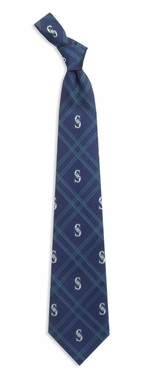 Seattle Mariners Woven Poly 2 Necktie