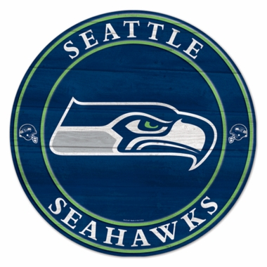 Seattle Seahawks 19.75 Inch Wood Sign