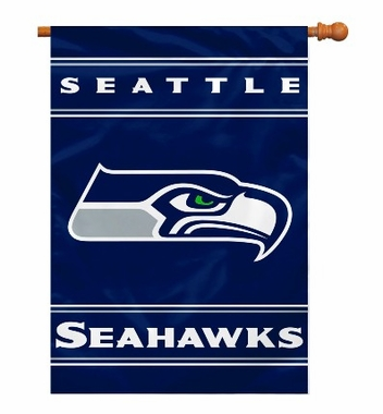 Seattle Seahawks 2 Sided Banner (P)