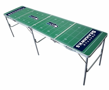 Seattle Seahawks 2x8 Tailgate Table