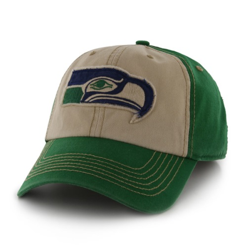 Seattle Seahawks 47 Brand NFL Yosemite Vintage Wash Adjustable Hat 1ffe226d1
