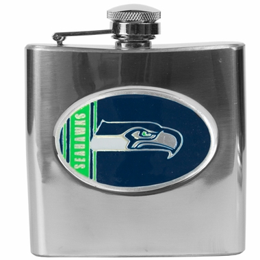 Seattle Seahawks 6 oz. Hip Flask