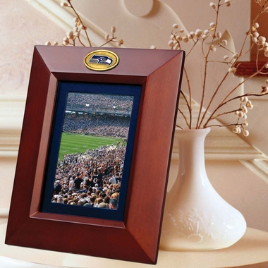 Seattle Seahawks BROWN Portrait Picture Frame
