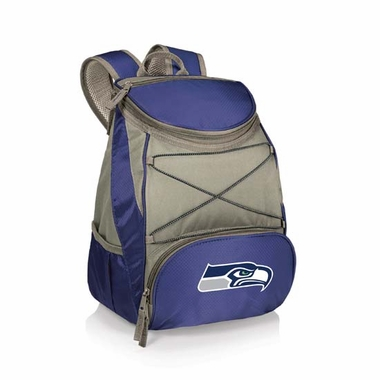 Seattle Seahawks PTX Backpack Cooler (Navy)